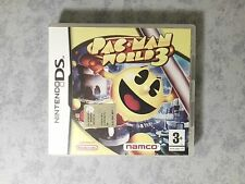 PACMAN PAC-MAN WORLD 3 NINTENDO NDS DS DSi 3DS 2DS PAL EU UK UKV COMPLETO - RARO