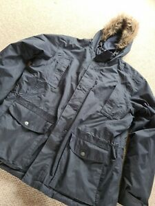 Womans Ladies CRAGHOPPERS Size Xl Blue Hooded Jacket Coat Outdoor aquadry