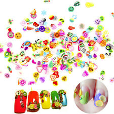 Nails Art Tips Slices Slime Kids DIY Supplies Sprinkles Accessories Decoration