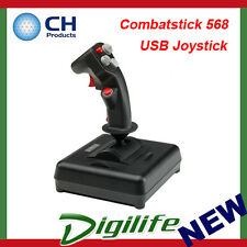 CH Products Combatstick 568 USB Joystick For PC & Mac CH-200-568
