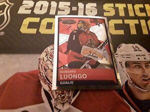 #84 Roberto Luongo Florida Panthers / Panini NHL 2015 2016 ice hockey sticker
