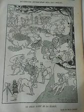 1920 Original Print Le Great evant de la season dessin de Pierre Lissac
