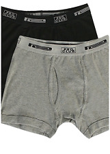 2 Pack Lot Pro Club 100% Cotton Men Underwear Boxer Briefs Shorts Size S-5XL New