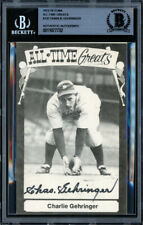 Charlie Gehringer Autographed TCMA All Time Greats Postcard Beckett 11077732
