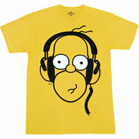 Simpsons Homer Headphones T-Shirt