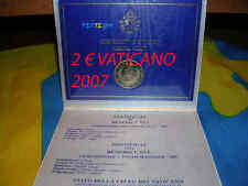 2€ Vaticano 2007  munzen 80 ANIVERSARIO BENEDICTO XVI  moneda euro