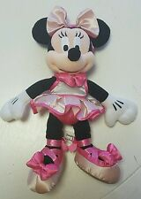 Disney Parks Disneyland Minnie Mouse Stuffed Plush Doll Ballerina 12""