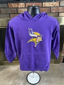 Minnesota Vikings NFL Football Hooded Hoodie Skol Sweatshirt Women's Size Small