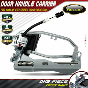 Front Right Driver Side RH Door Handle Carrier for BMW X5 E53 Series 2000-2006