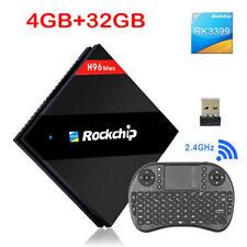 4GB 32GB RK3399 Six Core Android 6.0 TV Box H96 Max Dual WiFi H.265 BT4.0 USB3.0