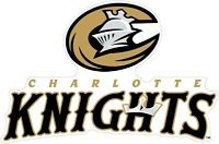 """Charlotte Knights MiLB Color Vinyl Decal Sticker - You Choose Size 2""""-42"""""""