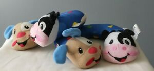 2 for $19.90 Fisher Price Infant Pillow Neck Head Support Cow Puppy Bright Color