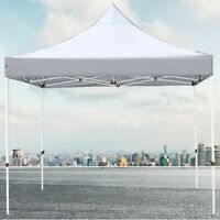 10'x10' EZ Pop Up Tent Top Canopy Replacement Sunshade Patio Outdoor Cover