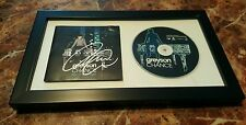 GREYSON CHANCE FRAMED AUTOGRAPHED HOLD ON TO THE NIGHT CD COVER SIGNED LADY GAGA