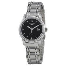 Longines Saint Imier Black Dial Stainless Steel Ladies Watch L25634526