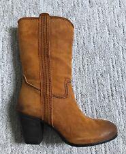 Alberto Fermani Womens Boots Rusticone US 7 EUR 37.5 Leather Suede NIB $425