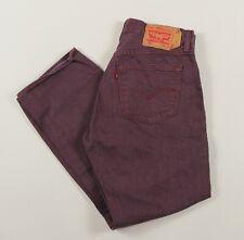 Vintage Levi's 501 Purple Straight Leg Men's Jeans 34W 28L 34/28 /J1014