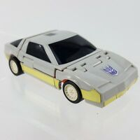 "Takara 1986 Hasbro Runabout Pull-Back Transformers Gray 4"" Car Robot Toy  Figure"