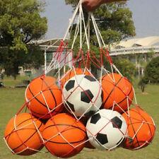 Cn _ Nailon Red Malla Bola Bolsa para Voleibol Fútbol Baloncesto Exterior