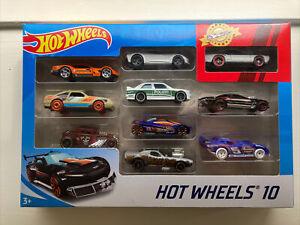 Hot Wheels 10 Diecast Cars - 10 x random vehicles Assorted - Bone Shaker, BMW