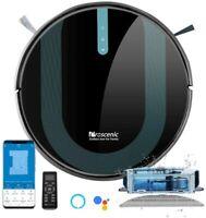 proscenic 850T Robot Aspirador y Fregasuelos 3000Pa Compatible Alexa & Google H