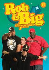 Rob & Big: The Complete Uncensored Third Season (DVD,2008)