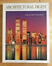 Architectural Digest 1992 New York Issue Matthew Modine Clive Davis Vicente Wolf