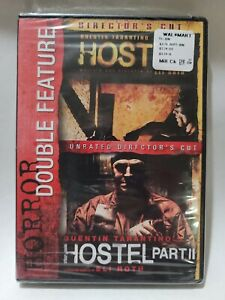 Horror Double Feature: Hostel, Hostel II (DVD, 2015), BRAND NEW,  FACTORY SEALED