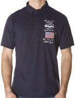 BLAUER USA Herren Polo Poloshirt blau blue dark blu scuro Jersey NEU mit Etikett