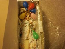 MARIE OSMOND CLOWN BABY 9.5 IN  PORCELAIN