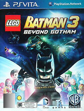 LEGO Batman 3: Beyond Gotham (Sony PlayStation Vita, 2014) VGC (D81)