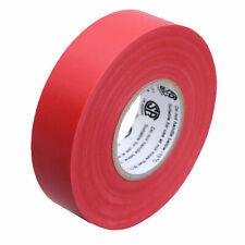 1 Roll Red Electrical Insulating Tape Vinyl 34 Inch 20 Yards Ul Listed