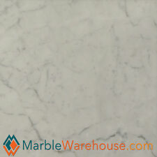 Carrara White Polished Floor and Wall Marble Tile