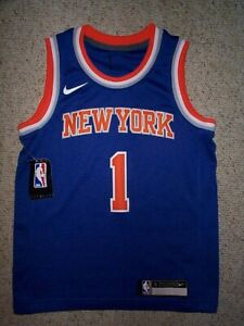 *IRREGULAR* ny Knicks OBI TOPPIN nba NIKE Jersey YOUTH KIDS BOYS (s-sm-small)