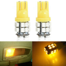 2PCS 20SMD LED T10 W5W 194 168 501 Car Auto Side Wedge Light Bulb 12V Amber