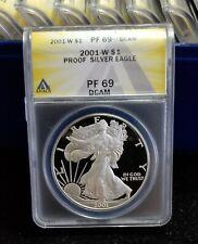 2001-W Proof Silver Eagle PF-69 DCAM