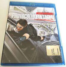 MISSION IMPOSSIBLE PROTOCOLLO FANTASMA FILM BLU-RAY BD PERFETTO ITALIANO!!
