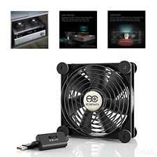 Quiet 120mm USB Fan For Computer Cabinet Cooling for Playstation Xbox USB Fan