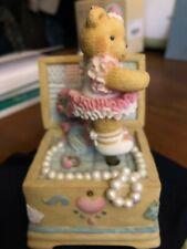 """Cherished Teddies Music Box Figurine - Tune """"Music Box Dancer"""""""