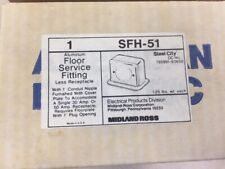 Aluminum Floor Service Fitting SFH-51