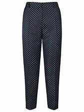 SOMERSET BY ALICE TEMPERLEY JACQUARD SAILBOAT TROUSERS UK 10 BNWT RRP £99.00
