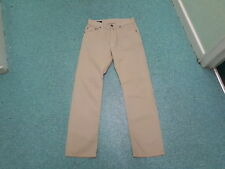 "Gant Jason Jeans Waist 30"" Leg 32"" Faded Sandy Beige Mens Jeans"