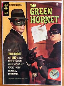 The Green Hornet #1 - Bruce Lee - Van Williams - Gold Key Comics (1966) VF/VF+