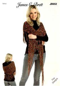 knitting pattern JB652 Zodiac Ladder Yarn