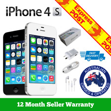 (NEW & SEALED) Apple iPhone 4s | 3G Smartphone | 100% Unlocked | Black 64GB