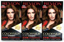 3 Boxes Revlon Luxurious Colorsilk Buttercream 731 Dark Beige Blonde Hair Dye