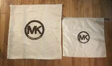 Michael Kors Dust Bags Cream organisers Lot