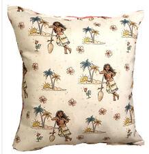 Moana Pillow HANDMADE Disney Moana 2021 Design Pillow Handmade In USA