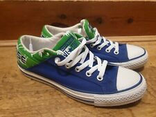Converse All Stars Blue And Green Palm print UK Size 6,5