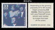 USA3 #3187o MNH 1950s Movies Go 3-D